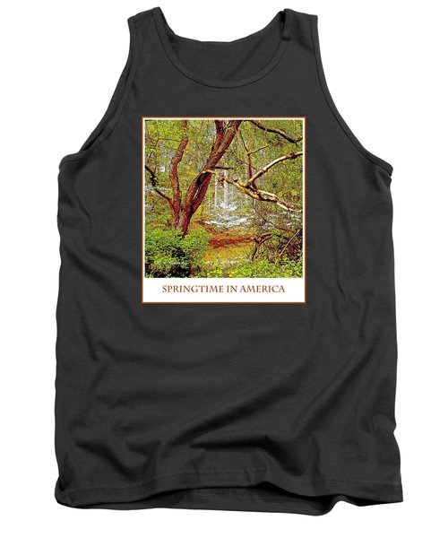 Tank Top featuring the photograph Dogwood Tree In Spring by A Gurmankin