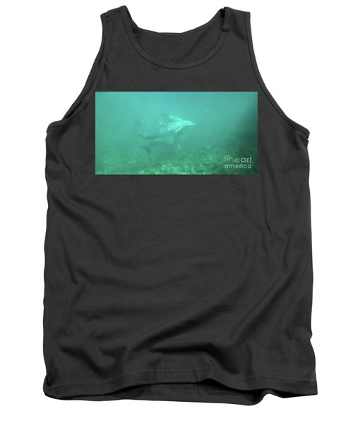 Tank Top featuring the photograph Dolphin Swim by Francesca Mackenney