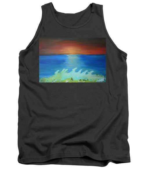 Dolphin Waves Tank Top