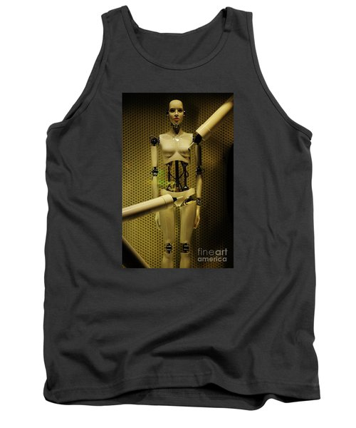 Tank Top featuring the photograph Domo Arigato Ms. Robato by Craig Wood