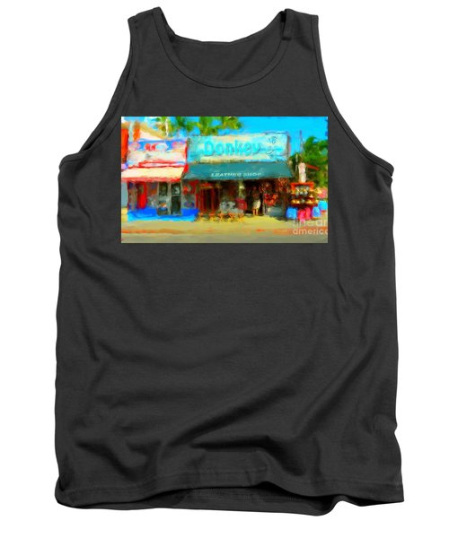 Donkey Leather Shop Tank Top by Gerhardt Isringhaus