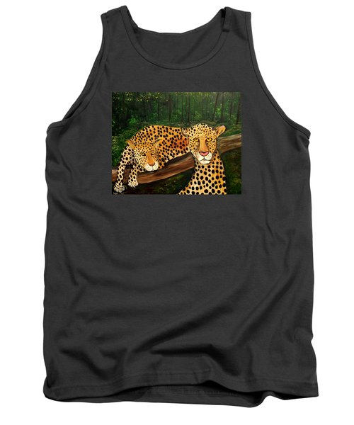 Don't Bother Me It's Naptime Tank Top by Lisa Aerts