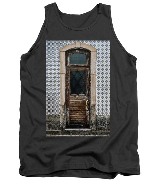 Tank Top featuring the photograph Door No 151 by Marco Oliveira