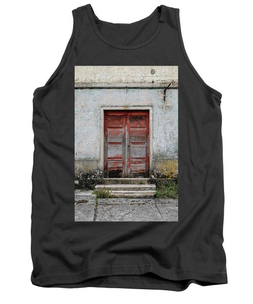 Tank Top featuring the photograph Door No 175 by Marco Oliveira