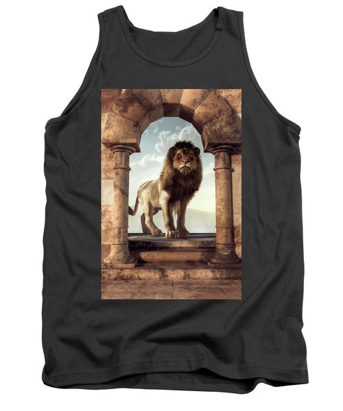 Door To The Lion's Kingdom Tank Top