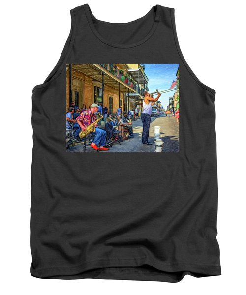 Doreen's Jazz New Orleans - Paint Tank Top