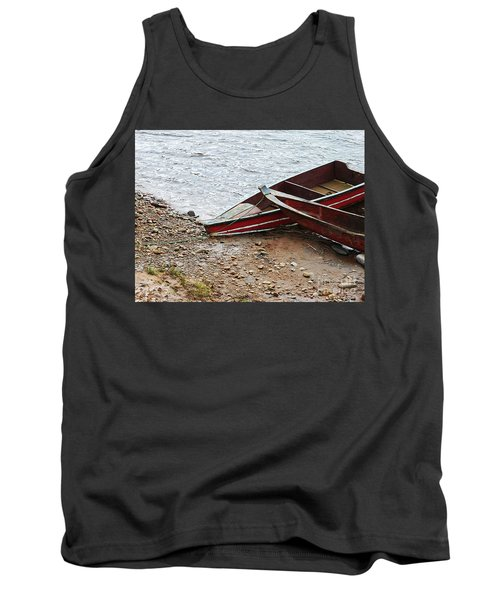 Dos Barcos Tank Top by Kathy McClure