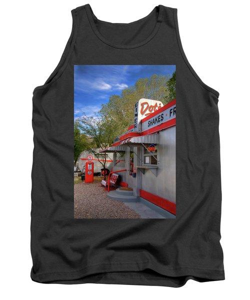 Dot's Diner In Bisbee Tank Top