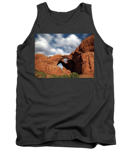Double Arch In The Moonlight Tank Top