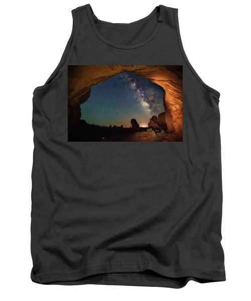 Double Arch Milky Way Views Tank Top by Darren White