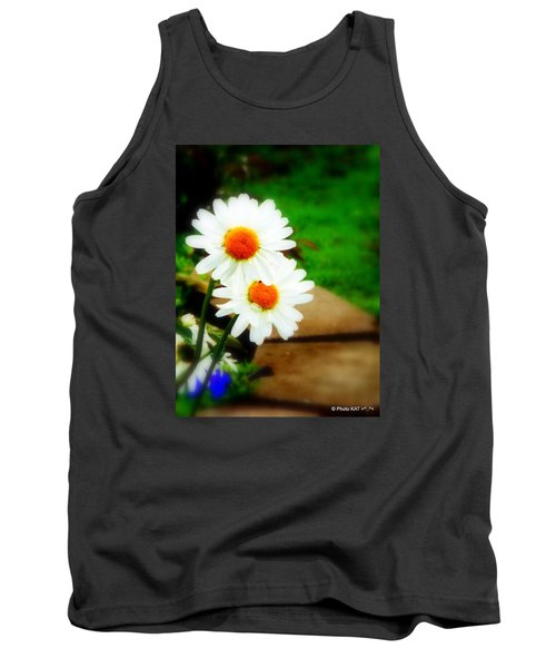 Double Daisy Tank Top