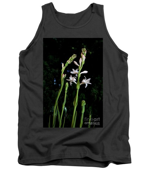 Double Tuberose In Bloom Tank Top