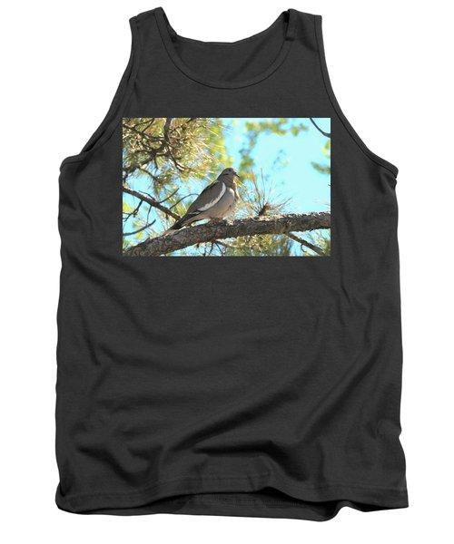 Dove In Pine Tree Tank Top