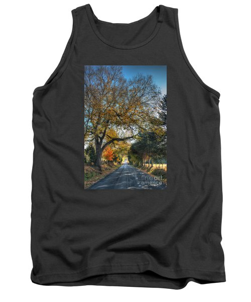 Down A Berger Lane Tank Top by William Fields