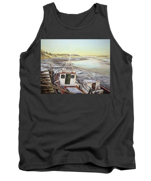 Down By The Docks Tank Top by Marty Garland