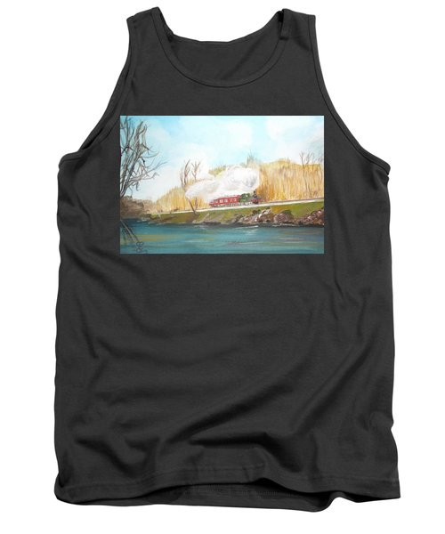 Down By The River Side Tank Top by Carole Robins