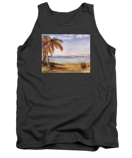 Down By The Sea Tank Top by Heidi Patricio-Nadon