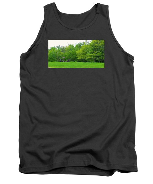 Down On The Farm Tank Top