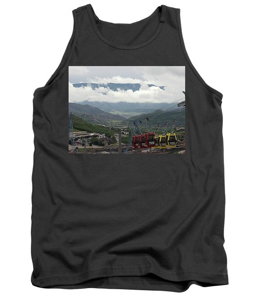 Down The Valley At Snowmass Tank Top
