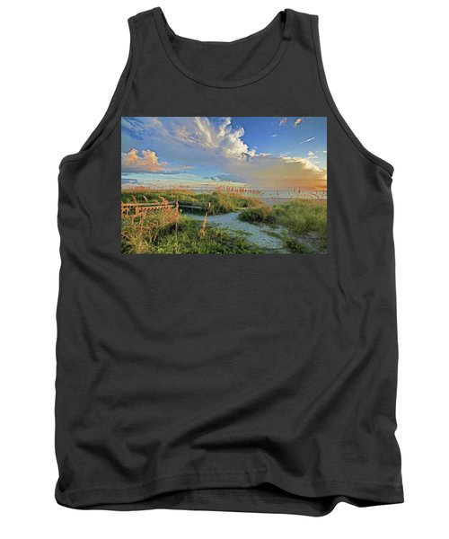 Down To The Beach 2 - Florida Beaches Tank Top