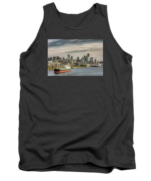 Downtown Seattle Tank Top by Lewis Mann