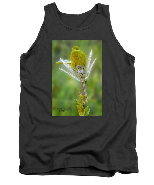 Dragon Fly In The Dew Tank Top