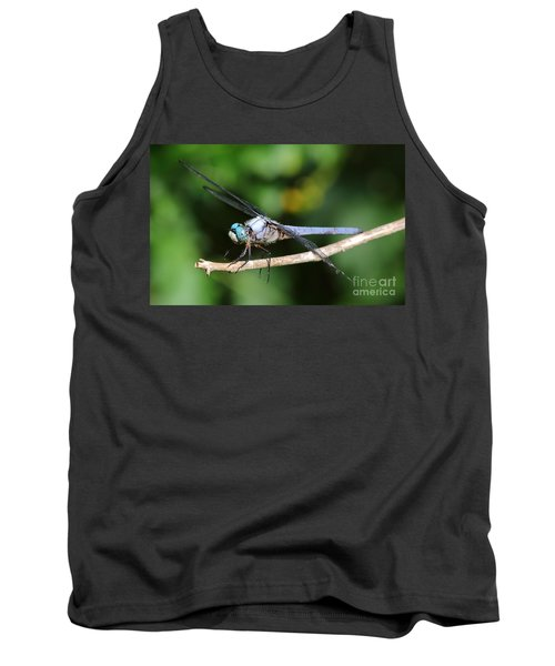 Dragonfly Portrait Tank Top