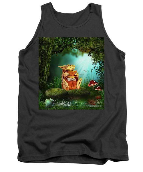 Dragon Tales Tank Top