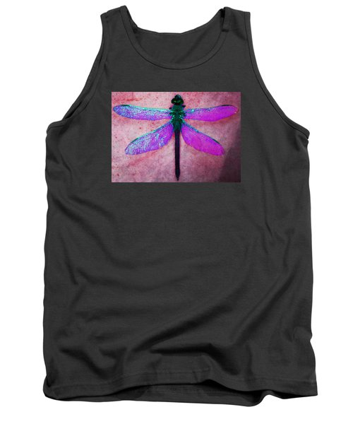 Dragonfly 6 Tank Top by Timothy Bulone