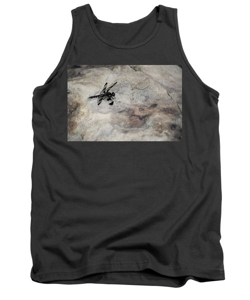 Dragonfly On Solid Ground Tank Top