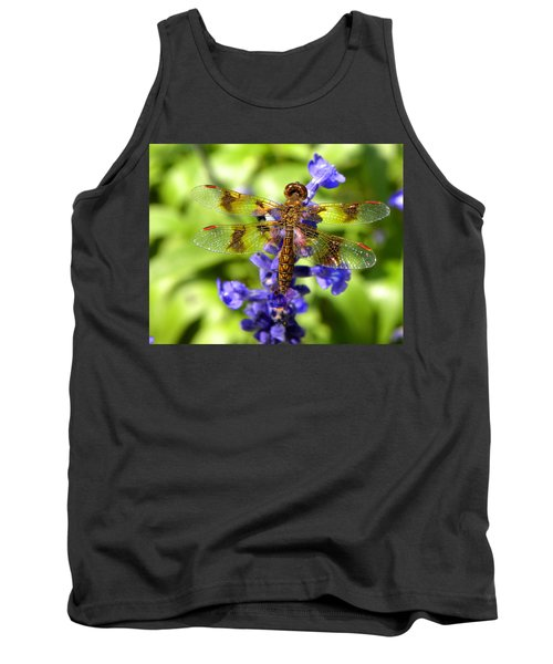 Tank Top featuring the photograph Dragonfly by Sandi OReilly