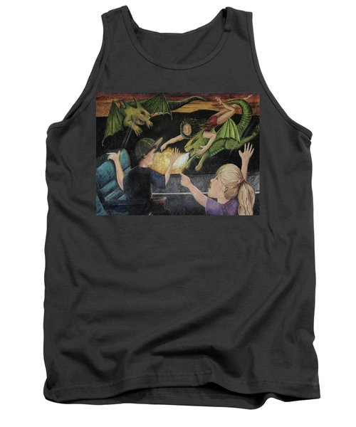 Dragons From The Train Tank Top