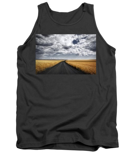 Drama On The Horse Heaven Hill Tank Top by Lynn Hopwood