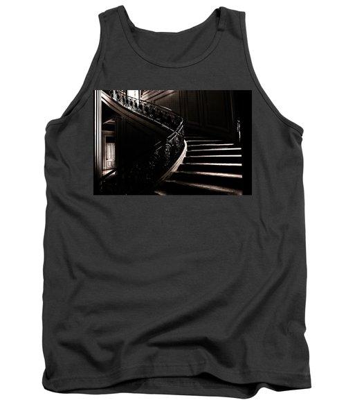 Dramatic Stairway Scene  Tank Top