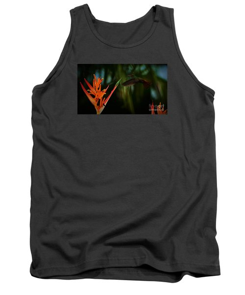 Drawn To Beauty Tank Top by Pamela Blizzard