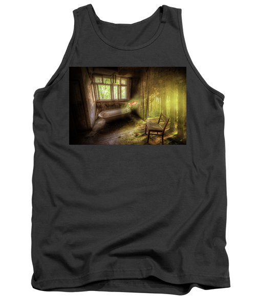 Tank Top featuring the digital art Dream Bathtime by Nathan Wright