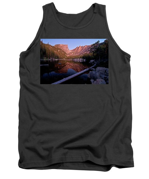 Tank Top featuring the photograph Dream Lake by Gary Lengyel