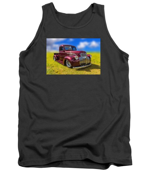Dream Truck Tank Top by Keith Hawley