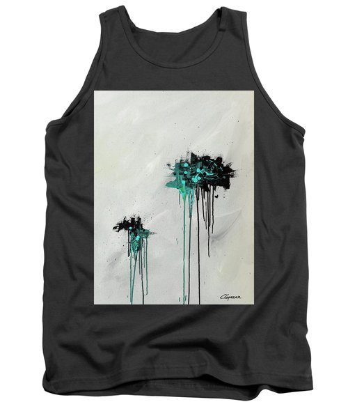 Tank Top featuring the painting Dreamers by Carmen Guedez