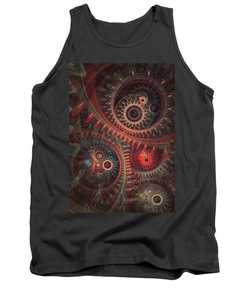 Dreaming Clocksmith Tank Top