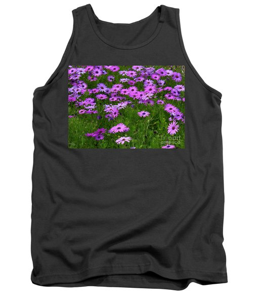 Dreaming Of Purple Daisies  Tank Top