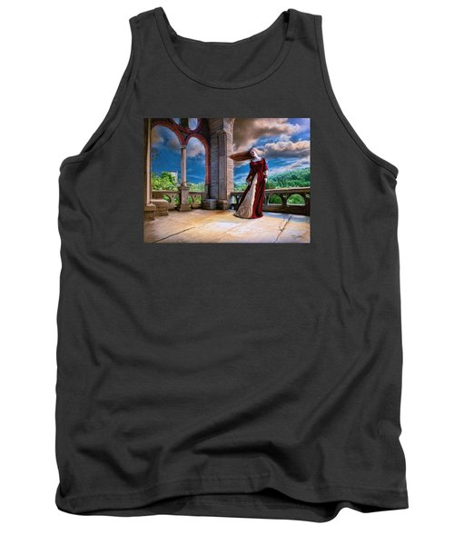 Tank Top featuring the painting Dreams Of Heaven by Dave Luebbert