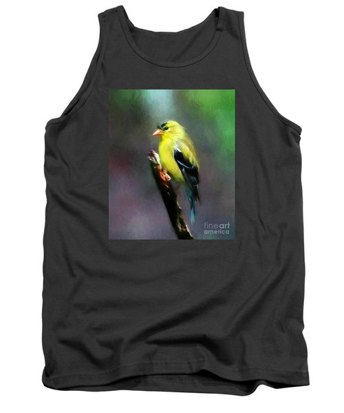 Dressed To Kill Tank Top by Tina  LeCour