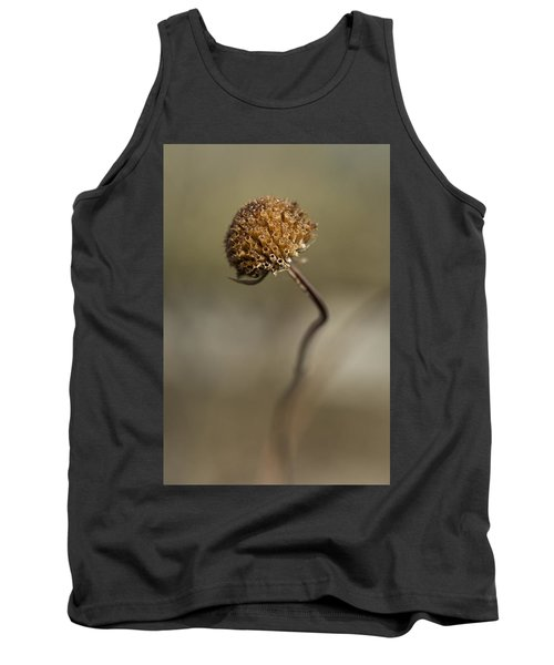 Dried Flower Close-up Tank Top