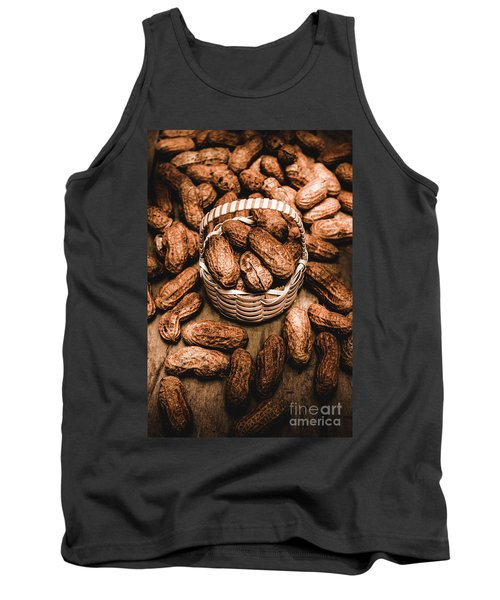 Dried Whole Peanuts In Their Seedpods Tank Top