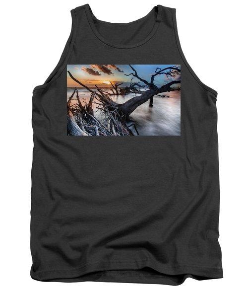 Driftwood Beach 6 Tank Top