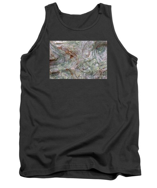 Driftwood Burl Tank Top by Chuck Flewelling