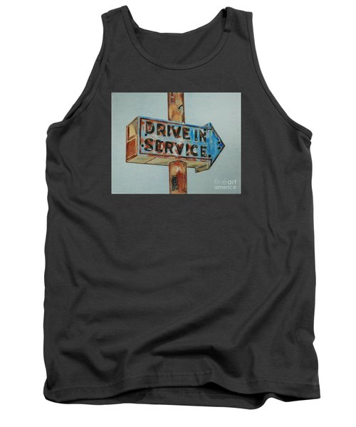 Drive In Service Tank Top