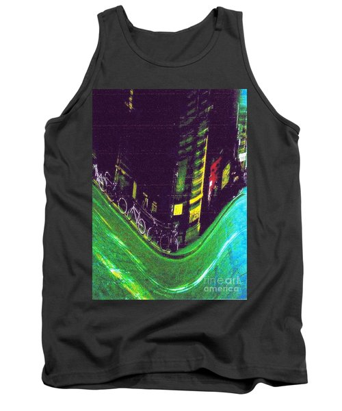 Driving By - Night Time In Bologna Tank Top