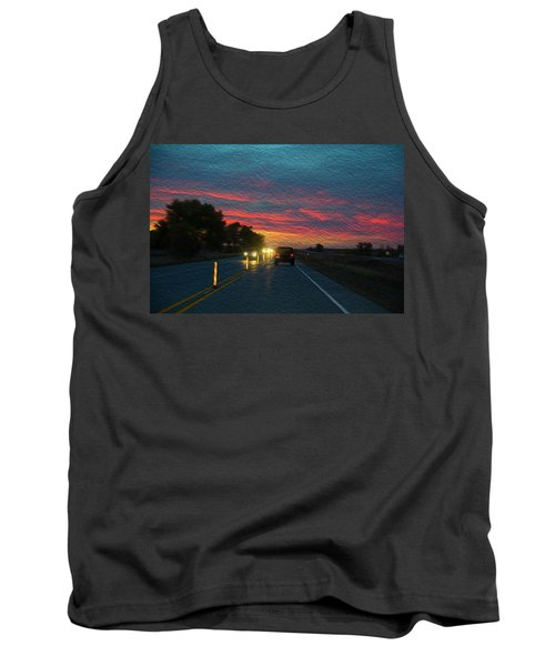 Driving Dusk Tank Top